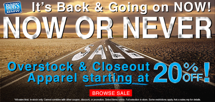 Now or Never Sale at Bob's BMW