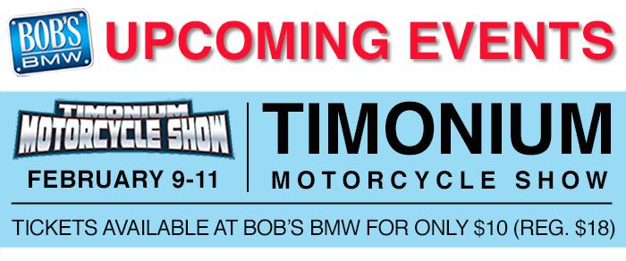 Timonium Show tickets at Bob's BMW
