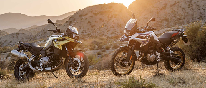 new BMW F 750 GS and F 850 GS