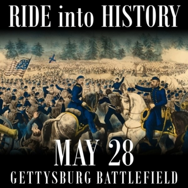 Ride Into History: Motorcycle Tour of Gettysburg Battlefeilds @ National Park Service Visitor Center