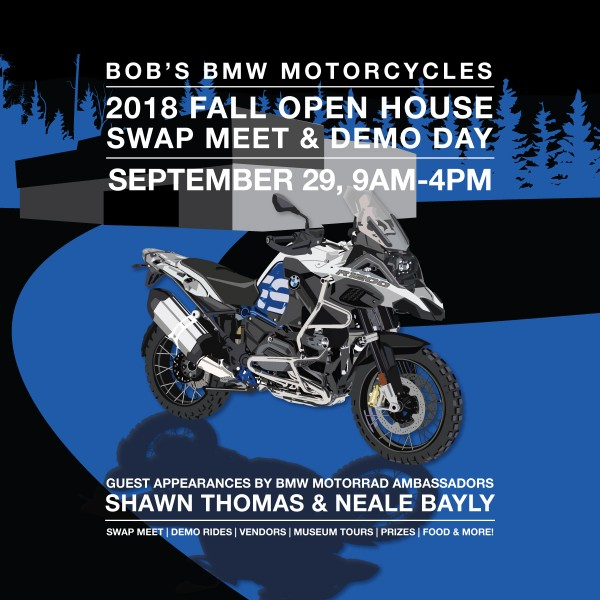 Fall Open House & Swap Meet @ Bob's BMW Motorcycles | Jessup | Maryland | United States